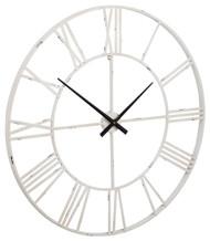 Paquita Antique White Wall Clock