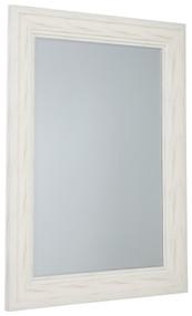 Jacee Antique White Accent Mirror