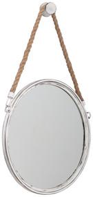 Dusan Antique White Accent Mirror