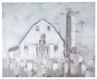 Jumana Blue/Gray/White Wall Art