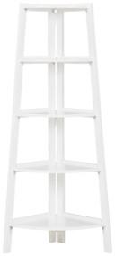 Bernmore White Corner Shelf