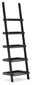 Yarlow Black Bookcase