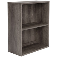 Arlenbry Gray Small Bookcase