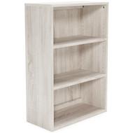 Dorrinson Antique White Medium Bookcase