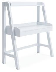 Blariden White Desk w/Hutch