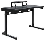 Lynxtyn Black Home Office Desk
