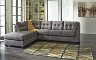 Maier Charcoal Left Arm Facing Corner Chaise, Right Arm Facing Sofa Sectional