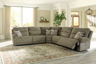 Lubec Taupe Left Arm Facing Zero Wall Power Recliner, Armless Chair, Wedge, Armless Chair, Right Arm Facing Zero Wall Power Recliner Sectional