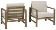 Fynnegan Light Brown Lounge Chair w/Cushion (2/CN)