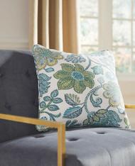 Miriam Blue/Cream Pillow(4/CS)