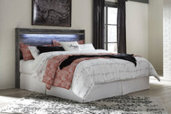 Baystorm Gray King Panel Headboard