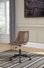 Office Chair Program Brown Home Bucket Seat Office Swivel Desk Chair