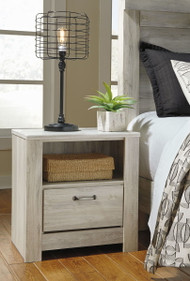 Bellaby Whitewash One Drawer Night Stand