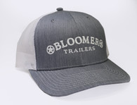 Heather Grey Cap with White Bloomer Trailers Logo
