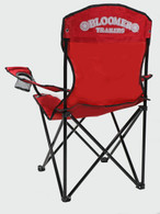 Captain's Chair - Red with Bloomer Logo