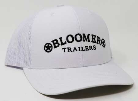 Classic trucker cap style built with the Richardson quality and fit you've come to expect. With Bloomer Trailers trademarked logo in black.