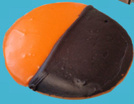 Orange & Black Halloween Cookies.  Limited Time!  Ship to friends families and colleagues or Enjoy Yourself!