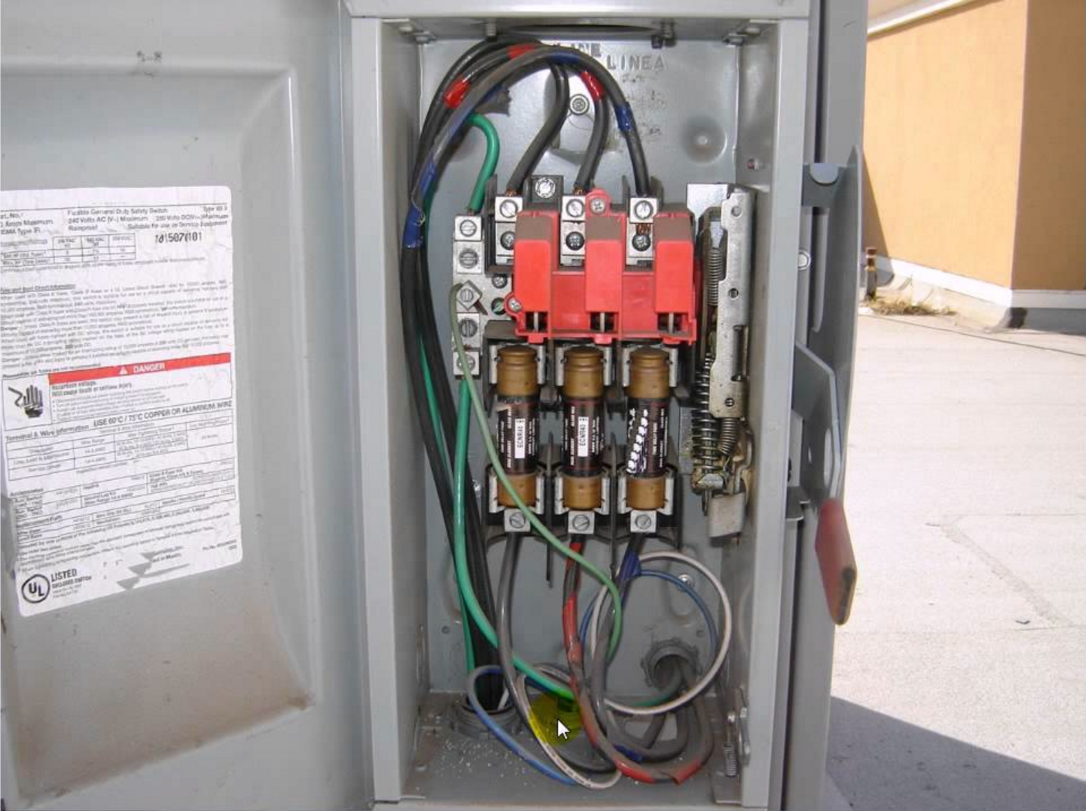 fuse box disconnect wiring diagram content Fused Disconnect
