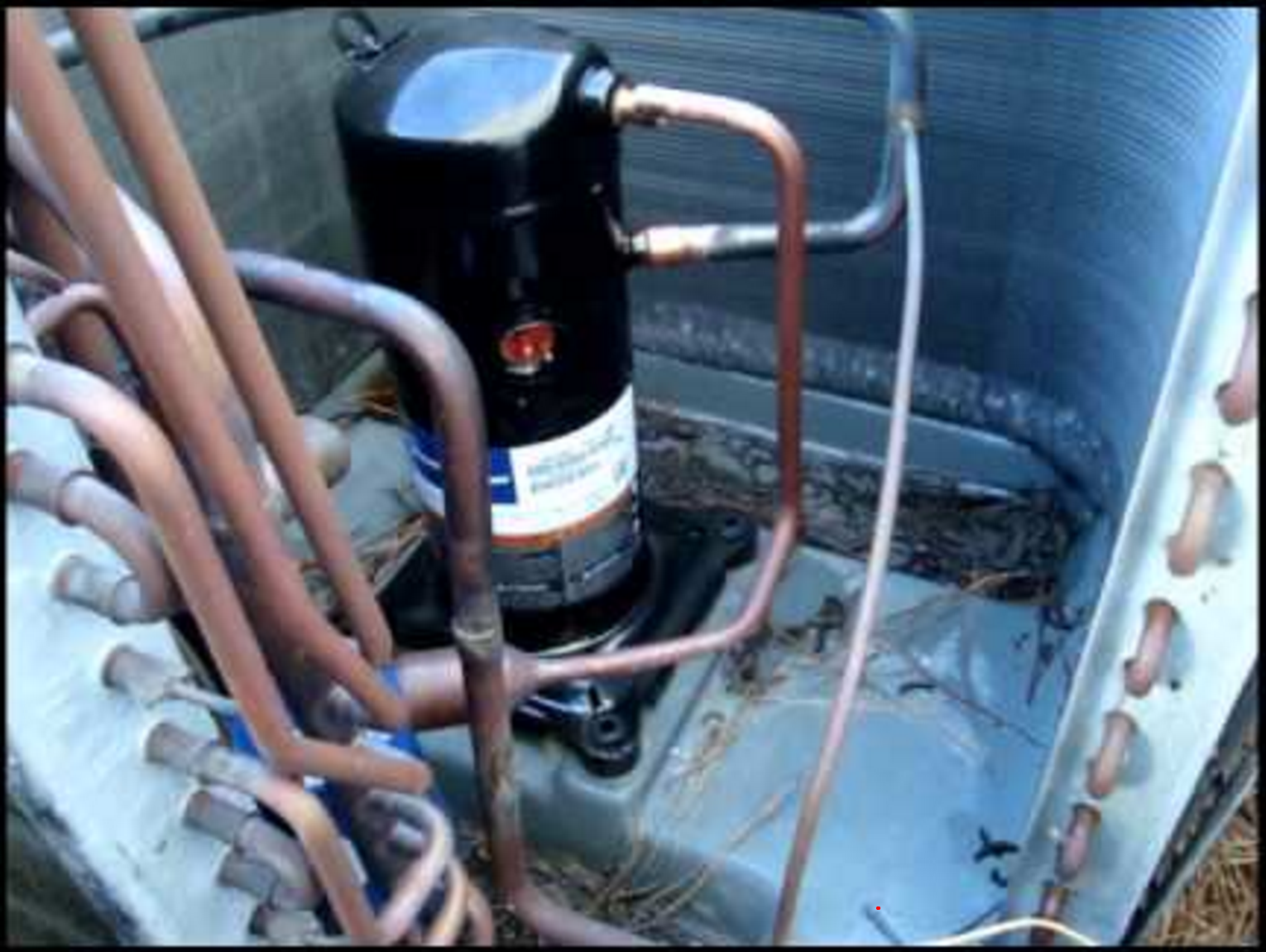 diagnosing issues in a 3 phase air conditioning compressor hvac braincompressor within an ac unit