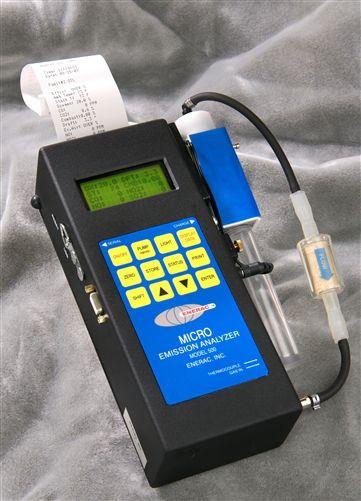 Enerac 500-10 Handheld Combustion Analyzer with O2/CO/NO/NO2/NOx/SO2/Temp/Draft/Combustibles