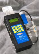 Enerac 500-5 Handheld Combustion Analyzer with O2/CO/NO/Temp/Draft