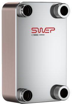 "SWEP B35H 10066-060-1, Brazed Plate Heat Exchanger, B35Hx60/1P-SC-S 4x1 1/2""NPT"