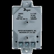 Dwyer Instruments 668C-12 DIFF PR 0-+/-05 INWC