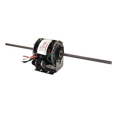 Century Motors 9476A (AO Smith), 5 Inch Diameter Double Shaft Fan/Blower Motor Resilient Base 115 Volts 1625 RPM 1/6~1/8~1/10~1/15 HP