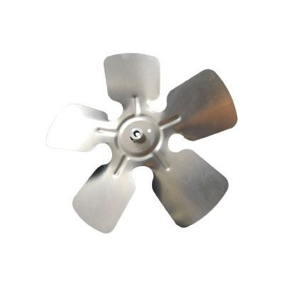 "Packard A61015, Small Aluminum Fan Blades With Hubs 10"" Diameter 5/16"" Bore CCW Rotation"