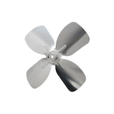 "Packard A61473, 4 And 10 Blade Small Aluminum Fan Blades 1/4"" Bore 5 1/2"" Diameter 4 Blades"