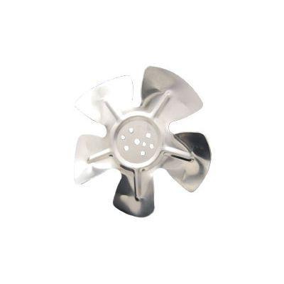 """Packard A63816, Hubless Small Aluminum Fan Blades 8"""" Diameter CCW Rotation"""