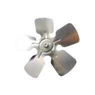 "Packard A64455, Small Aluminum Fan Blades With Hubs 5 1/2"" Diameter 3/16"" Bore CCW Rotation"