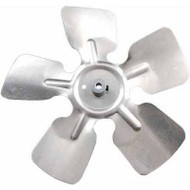 "Packard A65105, Small Aluminum Fan Blades With Hubs 10"" Diameter 1/4"" Bore CCW Rotation"