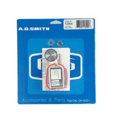 Century Motors 1234A (AO Smith), Speed Controls 4 Max Amps 120 Volts Panel Mounting