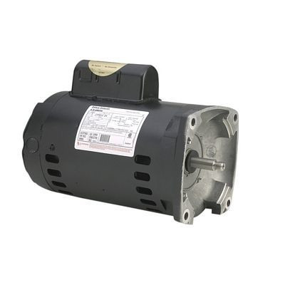 Century Motors B2852 (AO Smith), Centurion Pool And Spa Pump Motor Square Flange 230/115 Volts 3450 RPM 3/4 HP