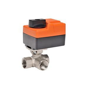"""Belimo B310+TR24-SR-T US, 3-way CCV, SS Trim, 1/2"""", CV 12 CCV w/ Stainless Steel Ball and Stem"""