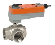 "Belimo B350L+AFRBUP, 2"" 3W BV, -valve, CV=87 with Spring Return,180 in-lb , On/Off, 24-240V"