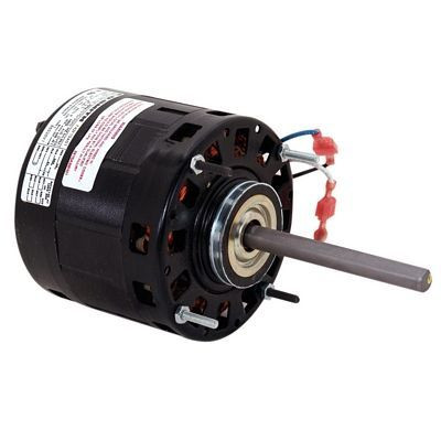 Century Motors B6520V1 (AO Smith), 5 Inch Diameter Single Shaft Open Fan/Blower Motor 230 Volts 1075 RPM 1/4~1/5~1/6 HP