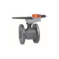 "Belimo B6600S-400+GRX24-3, 2-way CCV,Flanged SS trim 6"",CV400 Cast Iron body, stainless steel ball 250 F/120 C media temp, ANSI 125 Stainless steel disc"