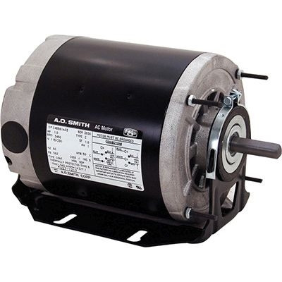 Century Motors BF2024 (AO Smith), Split Phase Resilient Base Motor 115/208-230 Volts 1725 RPM 1/4 HP