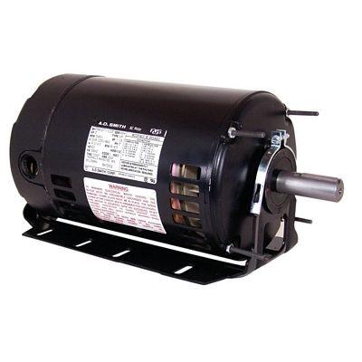 Century Motors BK3054V1 (AO Smith), Three Phase ODP Resilient Base Motor 208-230/460 Volts 1725 RPM 1/2 HP