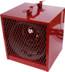 Qmark BRH562, Portable Electric Garage Heaters, 5600W,240V (4200W,208V)