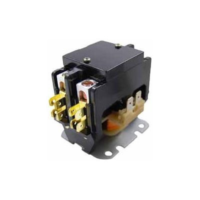 Packard C225A, Contactor 2 Pole 25 Amps 24 Coil Voltage
