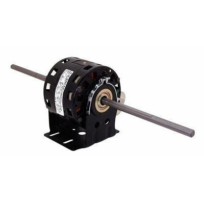 Century Motors DBL6503 (AO Smith), 5 Inch Diameter Double Shaft Fan/Blower Motor Resilient Base 115 Volts 1075 RPM 1/8~1/10~1/15 HP