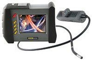 "General Tools DCS1800 High-Performance Wireless Recording Video Borescope System with 55mm DIA x 1m Long Probe and 35"" Screen"