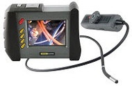 "General Tools DCS1800ART High Performance Wireless, Articulating, Recording Video Borescope System with Articulating 6mm DIA x Long Probe and 35"" Screen"