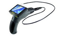 """General Tools DCS355 The Seeker 355 Video Inspection System with 55mm DIA 1m Long Probe, 35"""" Screen"""