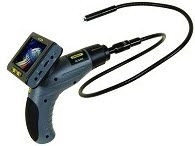 """General Tools DCS400 The Seeker 400 Wireless Data Logging Video Inspection System with 12mm DIA 1m Long Probe, 35"""" Screen"""