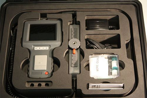 General Tools DCS800 Rugged High-Performance VGA Recording Video Borescope System