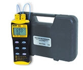 """General Tools DT8852 Digital Dual Input Therm (2 """"K"""" Type Probes) with 2 """"k"""" Type Probes Replaces DT8803"""